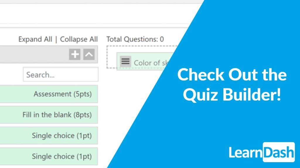 New Quiz Builder Reusable Questions And Status Of 3 0